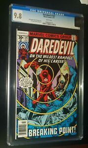 DAREDEVIL #147 1977 Marvel Comics CGC 9.8 NM/MT White Pages !