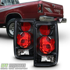 Blk 1989-1995 Toyota Pickup Truck Tail Lights Brake Lamps Aftermarket Left+Right