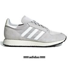 Adidas Forest Grove Gray Suede Nylon Authentic Running Shoes All Size - EE5837