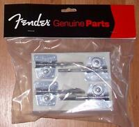 Fender® Logo American Vintage '70s Jazz Bass Chrome Tuners~0076568049~Brand New