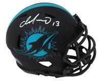 Dan Marino Signed Miami Dolphins Eclipse Matte Riddell Speed Mini Helmet - SS