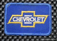"""CHEVROLET AUTOMOBILE EMBROIDERED SEW ON PATCH CHEVY CAMARO CRUZ 2 7/8"""" X 1 7/8"""""""