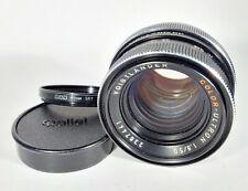 Voigtlander colore-Ultron 50mm f/1.8 veloce focale fissa standard ⌀ 49-QBM Fit
