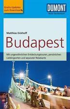 DuMont Reise-Taschenbuch Reiseführer Budapest von Matthias Eickhoff (2018, Taschenbuch)