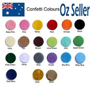 2000 Pack WEDDING CONFETTI THROW BALLOON TISSUE PAPER 2.5cm  1 INCH  ANY COLOURS