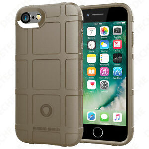 Shockproof Bumper Case for iPhone 8 / 7 / 8 Plus / 7 Plus (in MagPul Style)