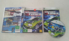 Import Tuner Challenge Xbox 360 PAL Version