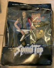 This Is Spinal Tap Nigel Tufnel Figure NEW in BAD SHAPE Box