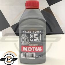 Motul DOT 5.1 Olio Liquido Freni Auto Moto ABS Brake Fluid 100% Sintetico 500 ml