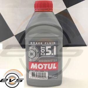 MOTUL DOT 5.1 Olio Liquido Freni 100% Sintetico Brake Fluid Auto Moto ABS 500ml