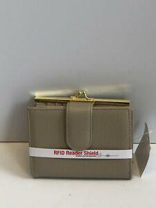 Buxton Lexington Wallet RFID Shield Women's Hand Carry Purse