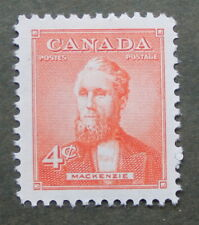Canada  4  cent stamp 1952   MNH  # 319 Prime Minister Alexander Mackenzie