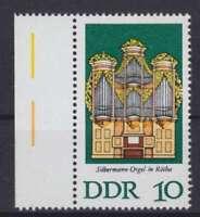 DDR Mi Nr. 2111 F 31 **, PF Plattenfehler, Orgeln 1976, postfrisch, MNH