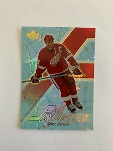 2003-04 Upper Deck Fan Favorites #FF6 Steve Yzerman - Detroit Red Wings