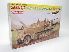 DRAGON 6542 1/35 Sd.Kfz.7/2 3.7cm Flak 37 w/ Armor Cab Smart Kit