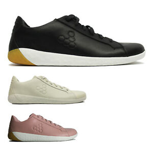 Vivobarefoot Womens Trainers Geo Court II Casual Lace-Up Low-Top Leather