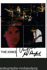 The Kinks RAY DAVIES 2013 Autógrafo Firmado uacc AFTAL