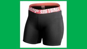 Women's Softball Rawlings Padded Sliding Shorts - medium