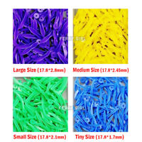 100pcs Dental disposable Plastic Wedge With Hole All 4 sizes  Round Stern Wedges