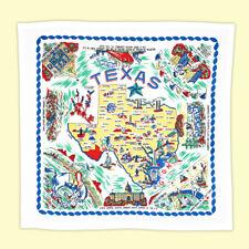 Texas State Map Souvenir Kitchen Towel