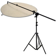 PhotR Collapsible Reflector Holder Boom Arm + 3m Photo Studio Light Stand Tripod