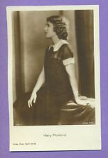MARY PICKFORD # 1537/1 VINTAGE PHOTO PC. PUBLISHER GERMANY 4850