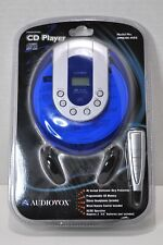 Audiovox™ Model No. DM8206-45ES Personal CD Player - FREE SHIPPING!