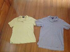 LANDS' ENDS Short Sleeve Uniform Polo Shirt Girls Women's S 6-8