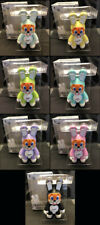 "Frank Kozik SIGNED Toy2R 7 9"" Bunee Qee Fiesta FULL SET AUTOGRAPHED NEW IN BOX"