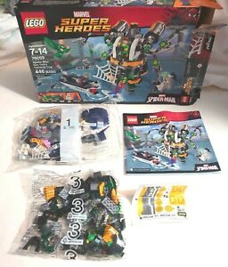 Lego 76059 Marvel Doc Ock's Tentacle Trap (Incomplete With 3 Minfigures)