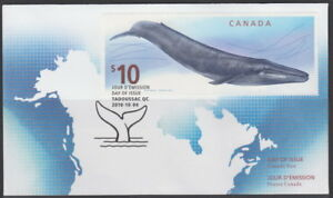 CANADA #2405 BLUE WHALE FIRST DAY COVER