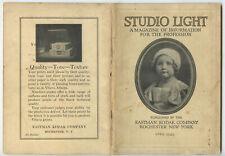 STUDIO OF LIGHT, APRIL 1929 VOL 21, MAGAZINE FOR PHOTO PROFESSIONALS