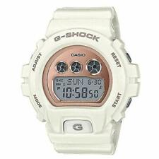 NEW G-SHOCK GMDS-6900MC-7 WHITE WITH ROSE GOLD MIRROR FACE