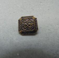 Vintage Four H Club Bronze Tone Color Very Detailed Lapel/Hat Pin