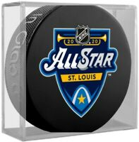 St. Louis Blues 2020 NHL All Star Game Souvenir Hockey Puck in Display Cube