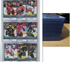 2017-18 UD YOUNG GUNS COMPLETE SERIES 1 ROOKIE SET BOESER HISCHIER MCAVOY RC LOT