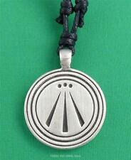 AWEN Three Rays Pendant Necklace Druid Celtic Pagan 2sides Jewellery 27mm wide