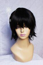 2# New Short Black Fashion Cosplay Anti-Alice Wigs
