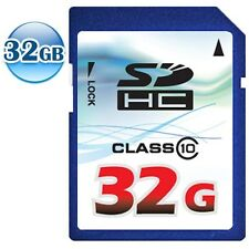 OEM CLASS 10 SDHC 32GB 32G FULL HD Video SD Flash Memory Data Card