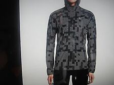 Nike Women's Shield Flash Max 3M Running Jacket SZ MED BLACK 686977-010