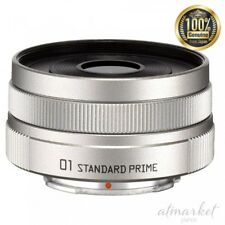 NEW PENTAX single focus lens 01 STANDARD PRIME Q mount 22067 silver From JAPAN