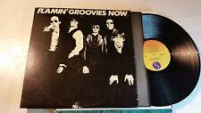 FLAMIN' GROOVIES Now orig US 1978 w/lyric srk6059 LP ww1 vinyl etch w/misprnt st