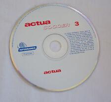 ACTUA SOCCER 3 - PC CD - Français Infogrames 2000 **LOOSE**