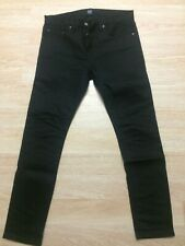 Gap Black Stretch Japanese Selvedge Raw Skinny Jeans Denim 32x30