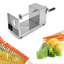 Stainless Steel Spiral Potato Slicer Potato Chips Twister Vegetable Cutter