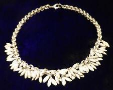 Silver 'berries'. Striking, tasteful statement necklace