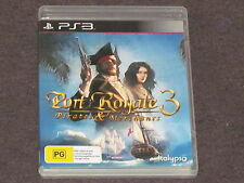 Port Royale 3 PS3 Cheap & Complete FREE & FAST POST PAL