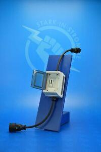 Zwischenzähler Adapter 230V - Schuko mit Digital LCD Zähler