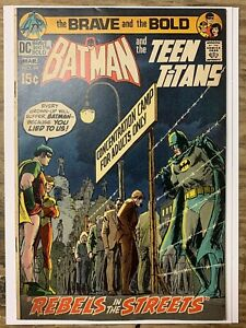 The Brave and the Bold #94/Bronze Age DC Comic Book/Teen Titans/FN