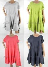 Women's No Pattern Short Sleeve Sleeve Scoop Neck Tunic, Kaftan Tops & Shirts
